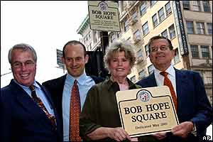 Bob Hope's children Kelly Hope, Zachary, Linda, and Tony