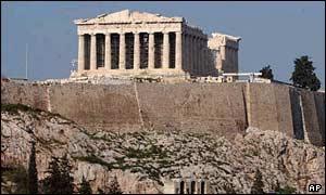 La Acrópolis y el Partenón