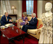 Sir David with Lady Jane Rayne & Peter Dimmock