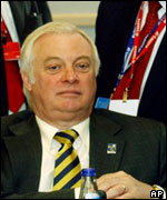 Chris Patten, EU Commissioner for External Affairs