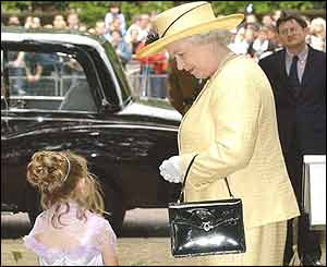 The Queen and a nine-year-old girl