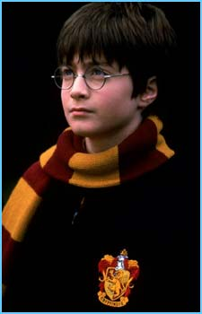 Boy wizard and glasses-wearer Harry Potter