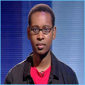 Newsround's Lizo looking serious in spex