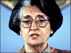 Indira Gandhu - Prime Minister
