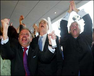 Jubilation in Liverpool as the bid committee learns the good news
