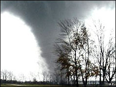 Tornado in the USA