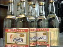 русская водка становится любимым крепким напитком англичан, вытесняя...