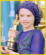 Anna winning the Oscar in 1994 for the Piano