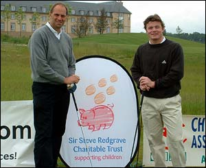 Sir Steve Redgrave and Ireland rugby captain Brian O'Driscoll