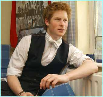 In his room at Eton, Prince Harry can relax & study
