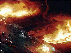 Los Angeles during the riots