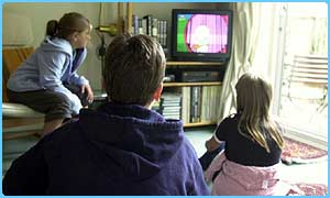 Kids watch two-and-a-half hours of TV a day