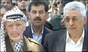 Arafat y Abu Mazen.
