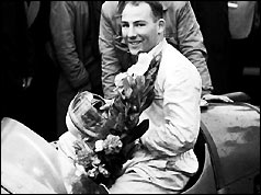 Stirling Moss pictured in 1954