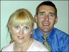 Gavin Critchley and his wife