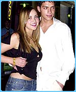 Charlotte Church and her ex-boyfriend
