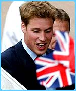 Top with Scots: Prince William