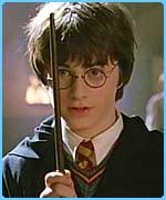 Dan as Harry in the Chamber of Secrets
