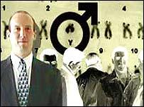 У мужчин есть одна х и одна y хромосома