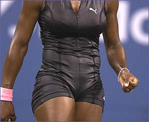 Serena won the US Open title at Flushing Meadows for the second time