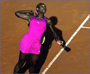 Serena had to wait one more year before picking up the French Open title - the first on  her way to a Serena Slam