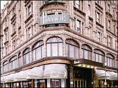 Contemporary view of Harrods