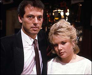 Den was devoted to his teenage daughter Sharon - he would call her