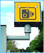 Often police use speed cameras to catch drivers