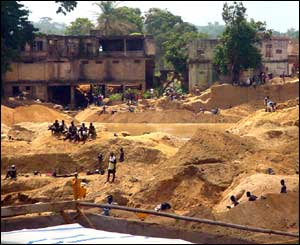 Fresh diamond digs in Koidu