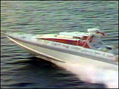 Virgin Challenger II powerboat