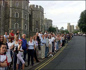 Crowds at Windsor