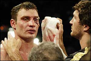 Vitali Klitschko and his brother Wladimir