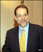 Javier Solana, encargado de Relaciones Exteriores de la Unión Europea