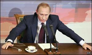 Presidente de Rusia, Vladimir Putin.