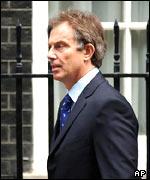 Primer ministro británico, Tony Blair.