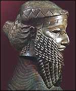 Cabeza de cobre (Ninive 2.250 A.C.)