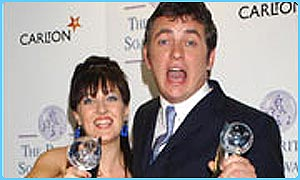 Shane Richie and Kacey Ainsworth