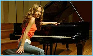 Myleene will be playing classical music in her new deal
