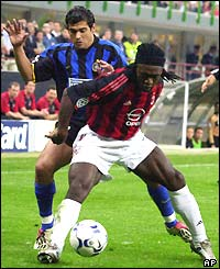 BBC SPORT | Football | Photo Galleries | AC Milan squeeze past Inter