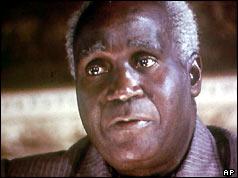 Zambian President Kenneth Kaunda