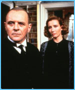 Anthony Hopkins and Emma Thompson in Remains Of The Day