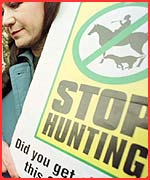 hunting should not be outlawed Hundreds of whitetail deer are killed every year by cars and are left to die on the side of the road.