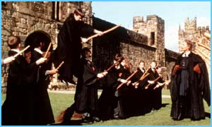 A scene from Harry Potter and the Philosopher's Stone