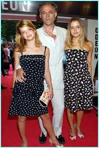 Charity organiser and 80s rocker Bob Geldof with glamorous daughters Peaches and Pixie