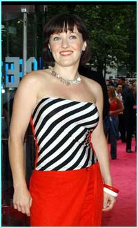 Little Mo actress Kacey Ainsworth went for zebra stripes