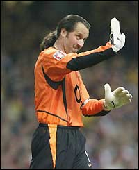 Arsenal keeper David Seaman