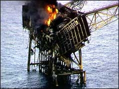 Piper Alpha after the disaster
