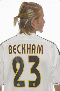 Real Madrid predict Beckham's arrival will boost shirt sales