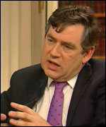Gordon Brown MP, Chancellor of the Exchequer