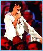 Davina in her Popstars role